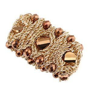 KAYMEN 18K Gold plated Bangle Bracelet